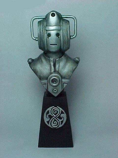 "Doctor Who sculpts by Neil ""Blackbird"" Sims - Moonbase Cyberman"