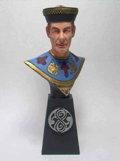 """Doctor Who sculpts by Neil """"Blackbird"""" Sims - The Celestial Toymaker"""