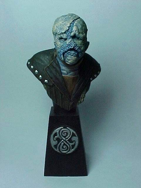 """Doctor Who sculpts by Neil """"Blackbird"""" Sims - Haemovore"""