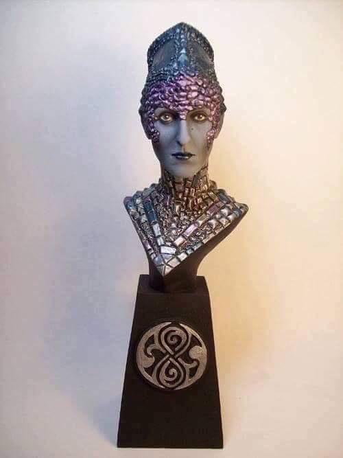 "Doctor Who sculpts by Neil ""Blackbird"" Sims - Eldrad"