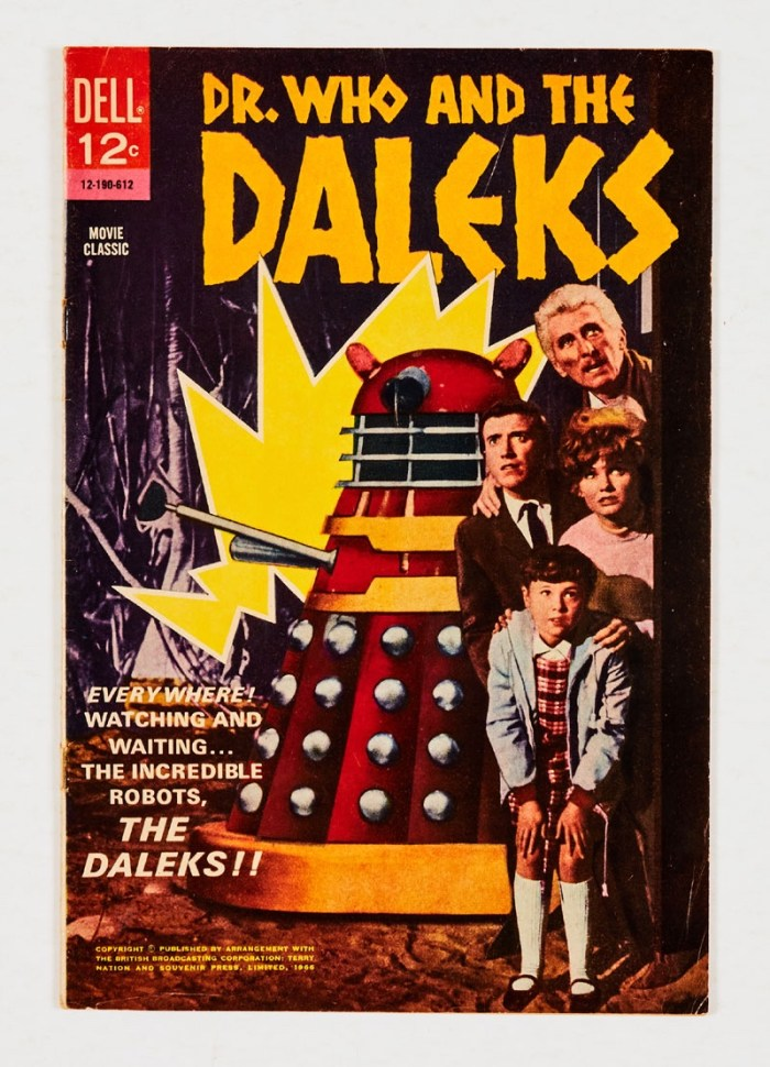 Dell - Dr Who and the Daleks