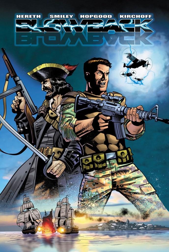 Blowback Graphic Novel Cover