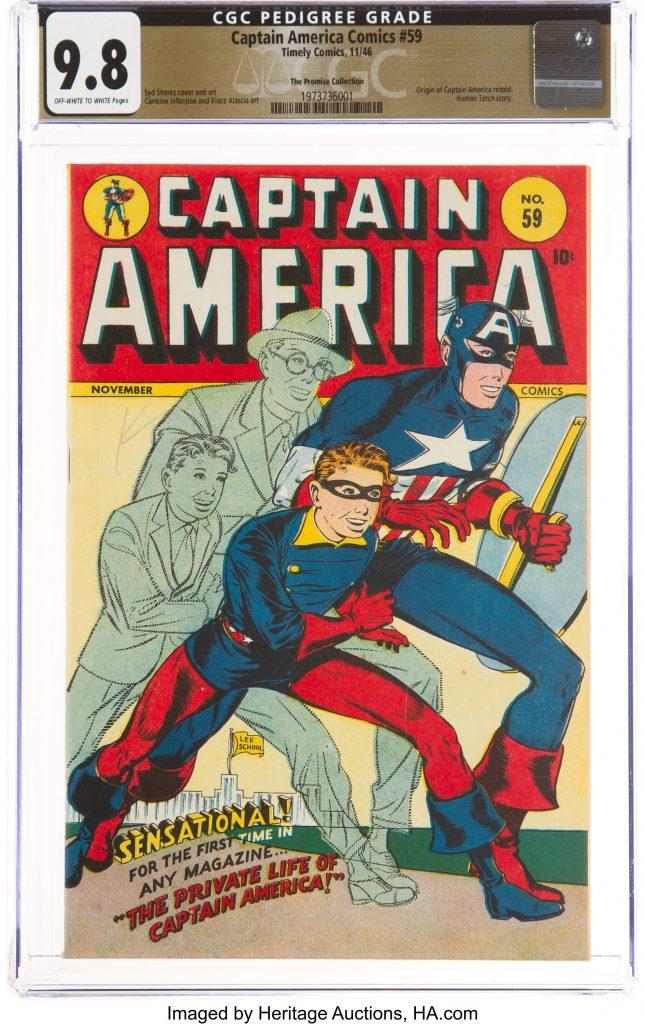Captain America No. 59