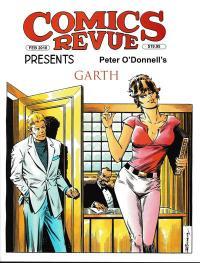 Comics Revue #381 - Modesty Blaise cover by Romero