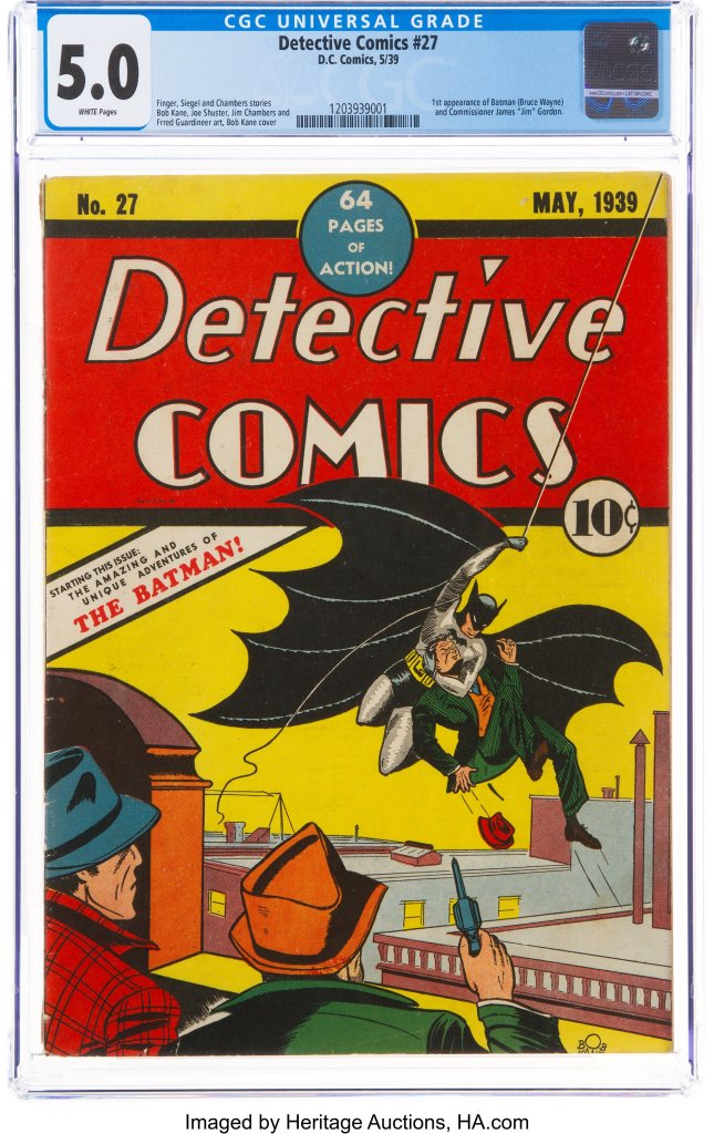 Detective Comics #27 (DC, 1939) CGC VG/FN 5.0 White pages