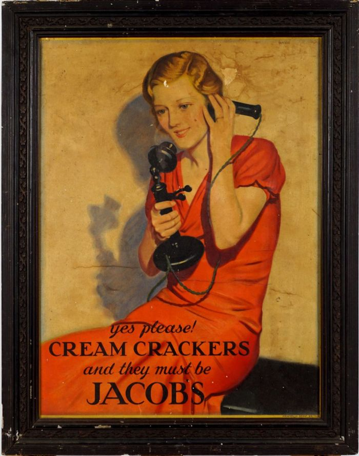 Jacobs Crackers Poster (Undated)