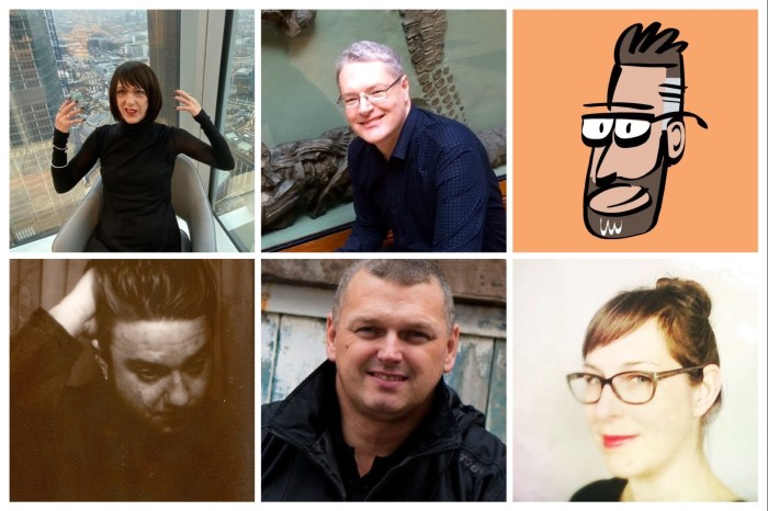 Lakes International Comic Art Festival Guests 2021 - Late June Promo