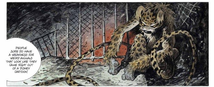 Le Marsupilami (The Beast) Sample Art