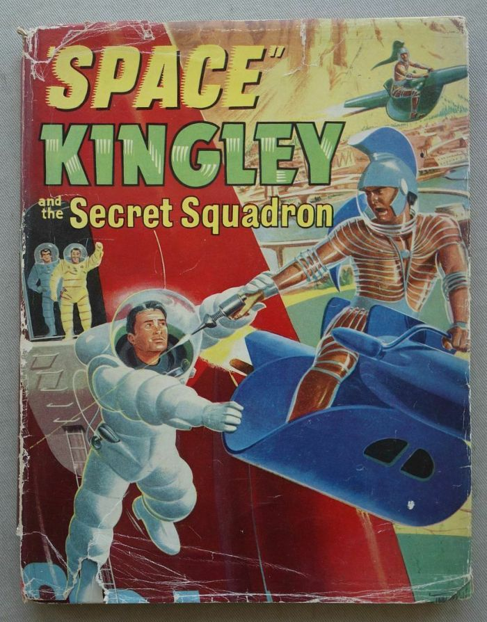 Space Kingley and the Secret Squadron