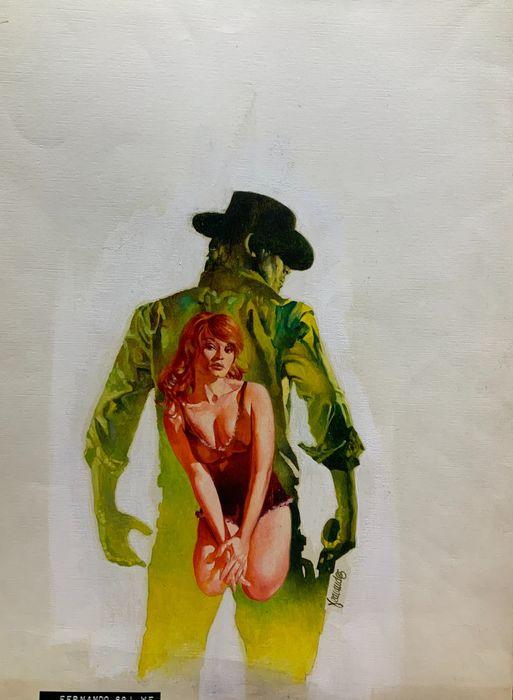 Western Book Cover by Fernando Fernandez