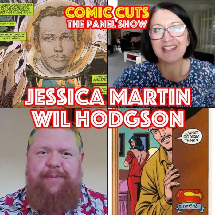 Kev F. Sutherland's Comic Cuts Podcast - Jessica Martin and Wil Hodgson