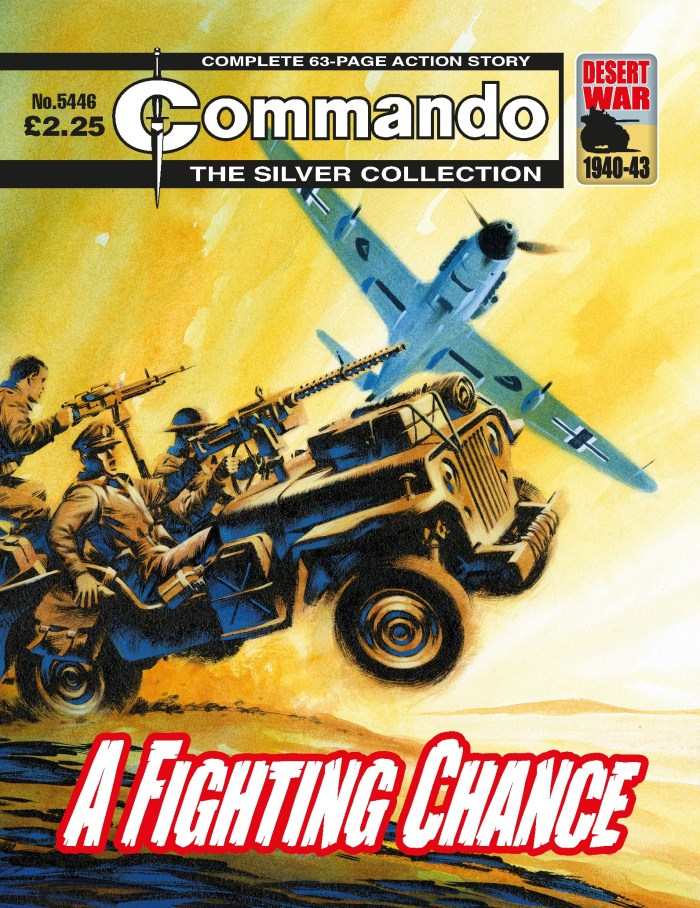 Commando 5446 - Silver Collection: A Fighting Chance