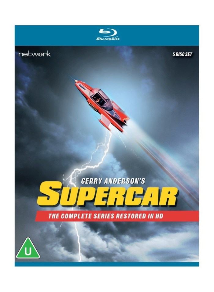 Supercar The Complete Series Deluxe Limited Edition Blu-Ray