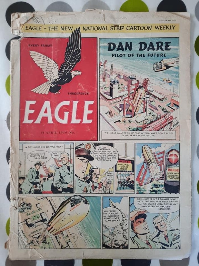 Eagle Volume One Issue One - Pay Copy - Cover