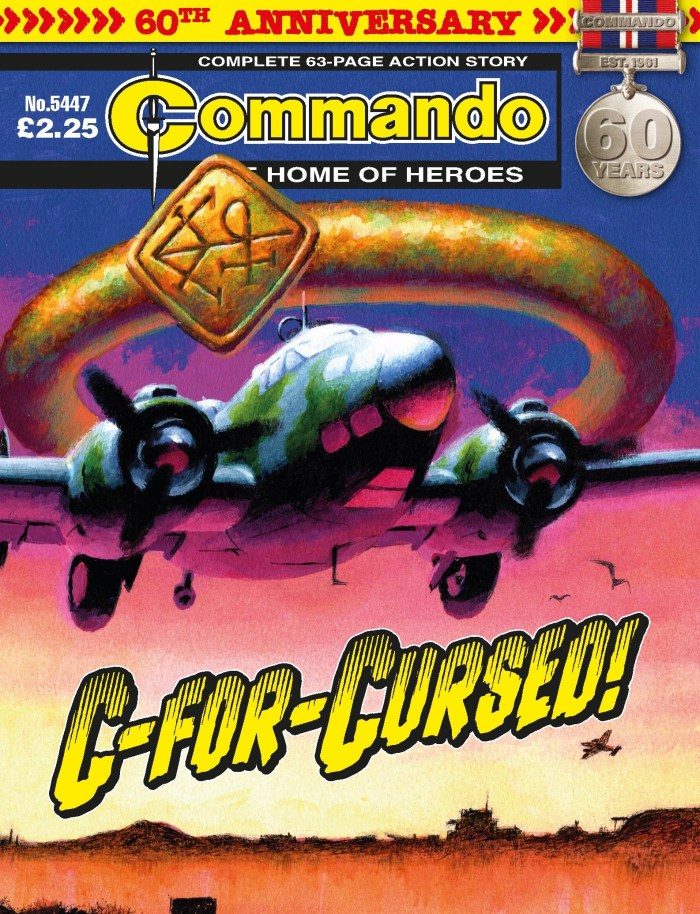Commando 5447 - Home of Heroes: C-For-Cursed!