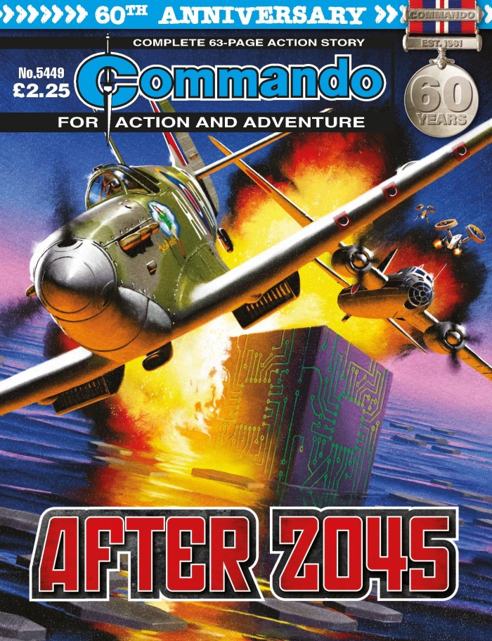 Commando 5449 - Action and Adventure: After 2045