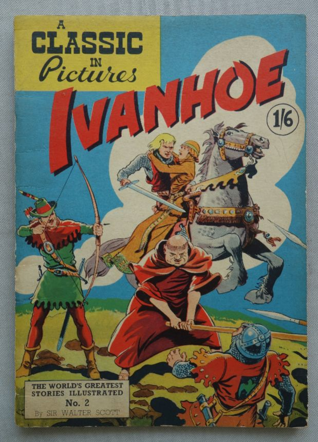 A Classic in Pictures comic #2: Ivanhoe '60s Illustrated