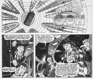 """Who Remembers MAD Magazine's """"Doctor Ooh""""? (And some MAD UK history, and a mad idea, too)"""
