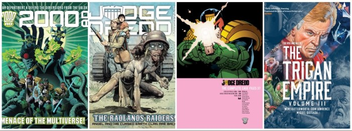 Rebellion Releases - Week Commencung 19th July 2021  - 2000AD, Trigan Empire