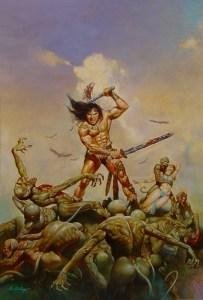 Conan by Blas Gallego