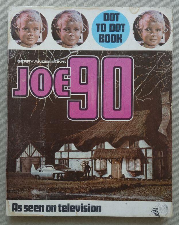 Joe 90 Dot to Dot Book