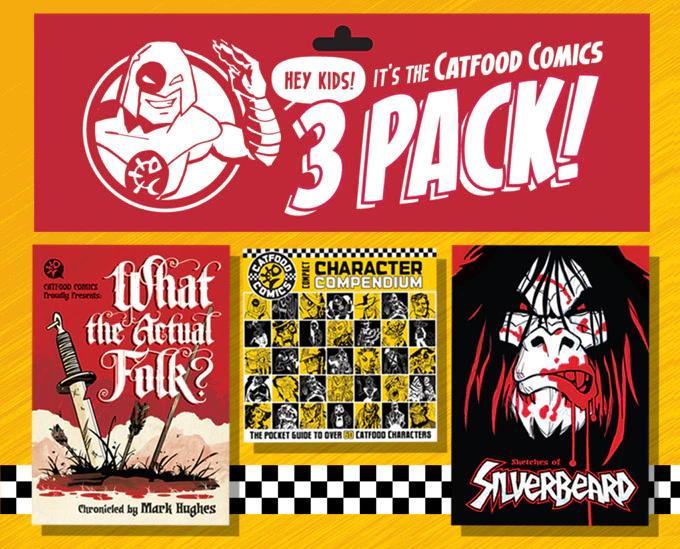 Catfood Comics Three Pack