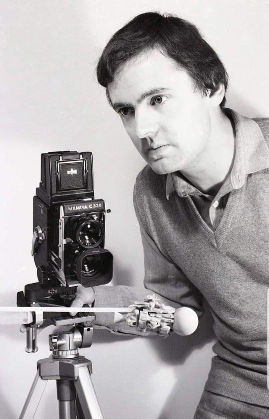 Effects Designer and Illustrator Julian Baum in the 1980s