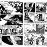"""The opening episode of the Captain Condor story """"The Push Button Planet"""", first published in Lion, cover dated 30th December 1961"""