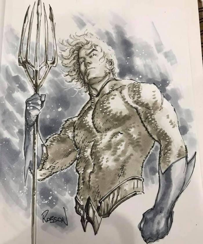 Aquaman by Robson Rocha