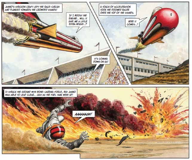 The Trigan Empire - Action