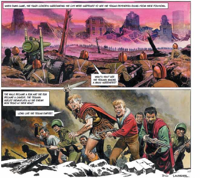 The Trigan Empire - Warfare