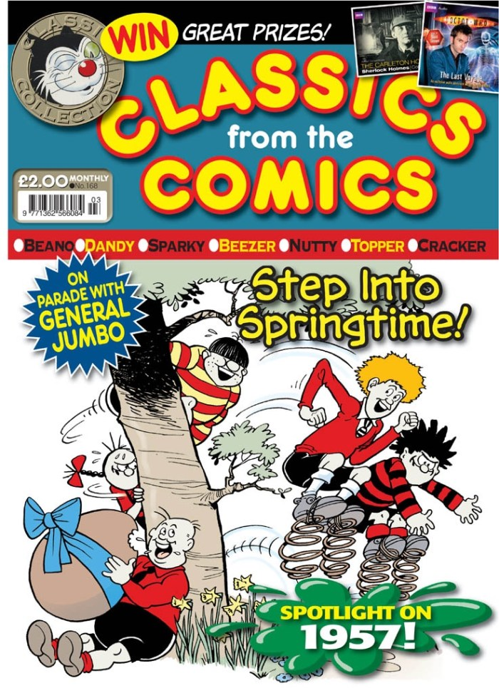 Classics from the Comics, March 2010. Cover by Ken Harrison