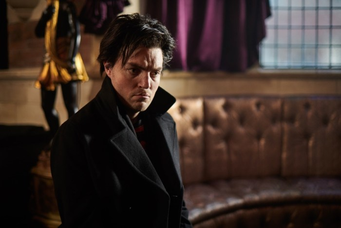 Tom Burke stars in The Show,  written by Alan Moore, directed by Mitch Jenkins