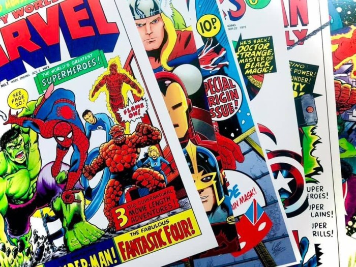 Journey into Marvel - Forge Mill Needle Museum, Redditch 2021 - art by Lee Bradley