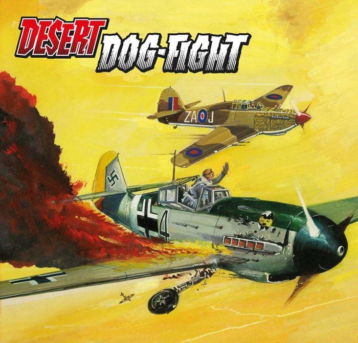 Commando 5460: Gold Collection - Desert Dog-Fight - cover by Sanfeliz Full