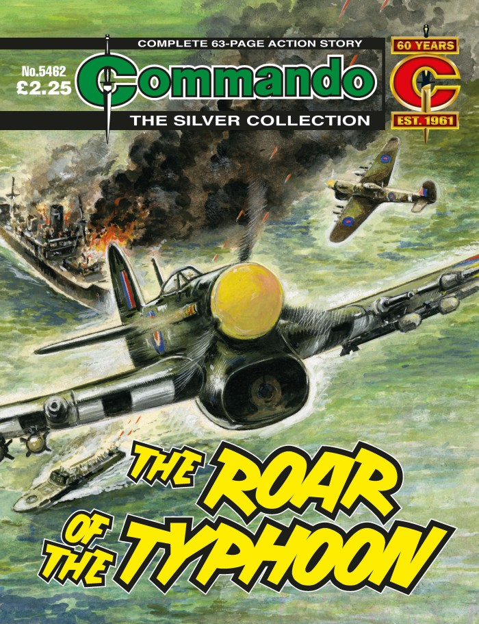 Commando 5462: Silver Collection - The Roar of the Typhoon