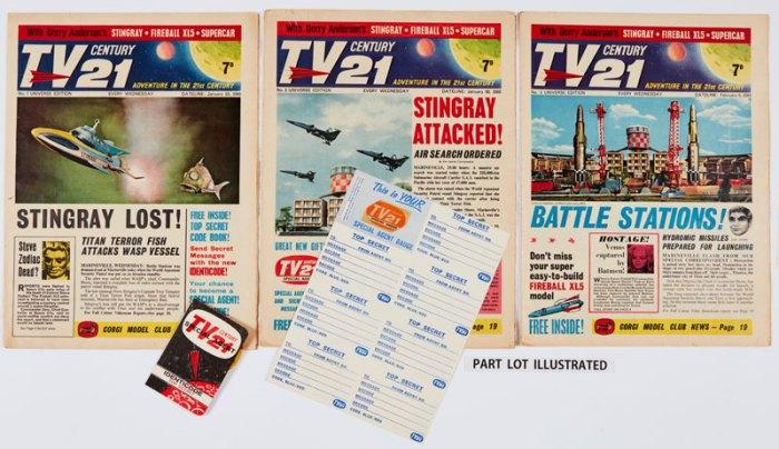 TV Century 21 (1965-67) 1 - 140