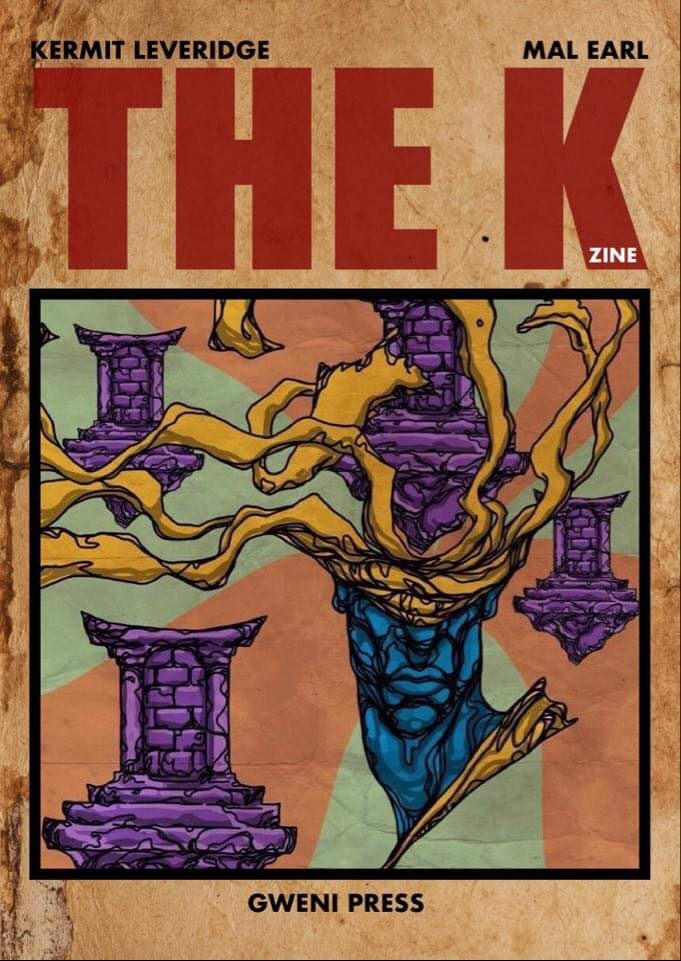 The K by Edward Leveridge, illustrated by Mal Earl