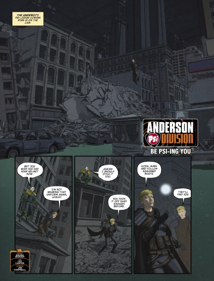 2000AD 2250 - Anderson, Psi-Div: Be Psi-ing You