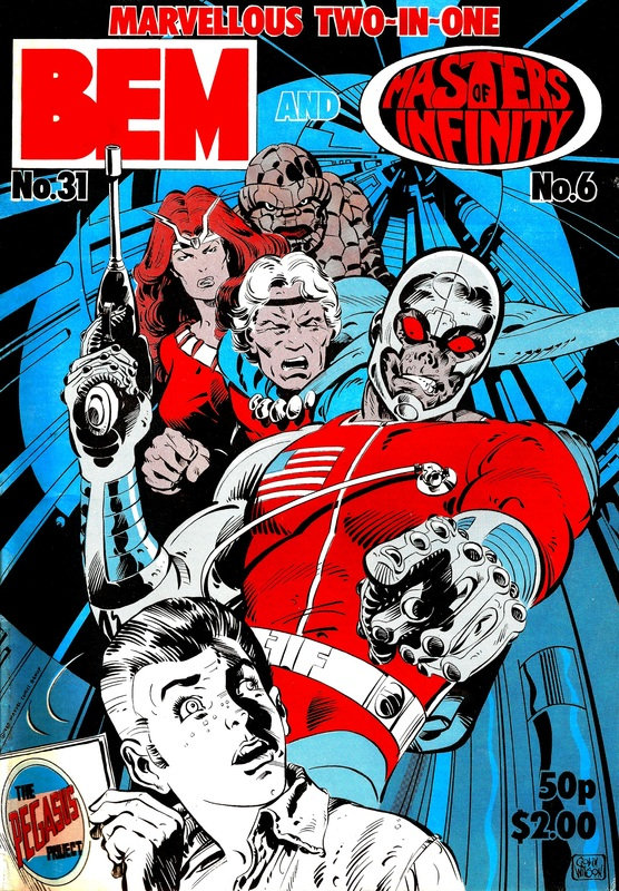BEM 31 - Cover by Colin Wilson
