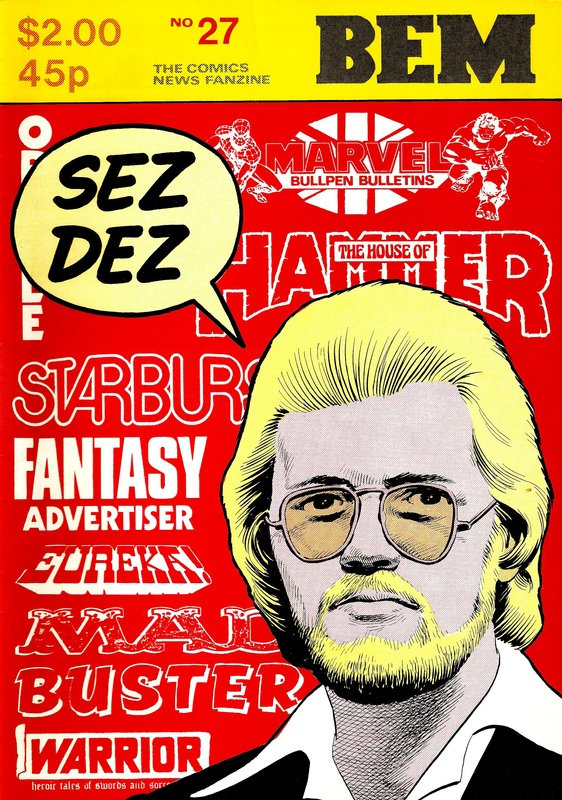BEM 27 - Cover by Dave Gibbons