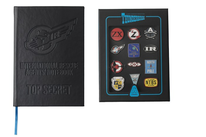 Thunderbirds Collectors Badge Set [Official & Exclusive]