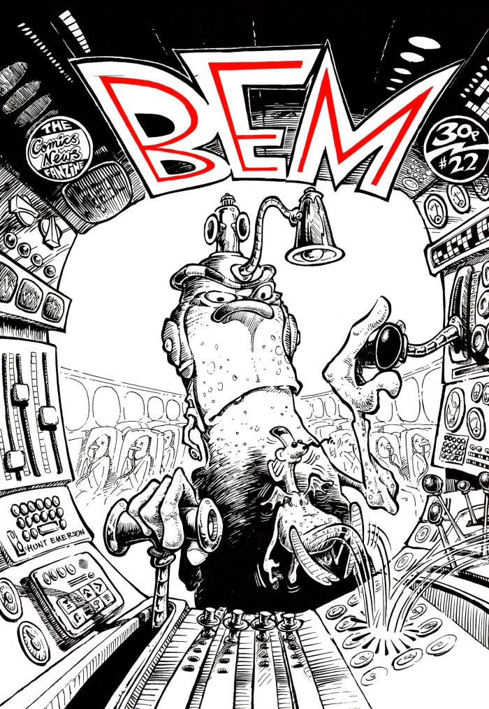 BEM 22 - Cover by Hunt Emerson