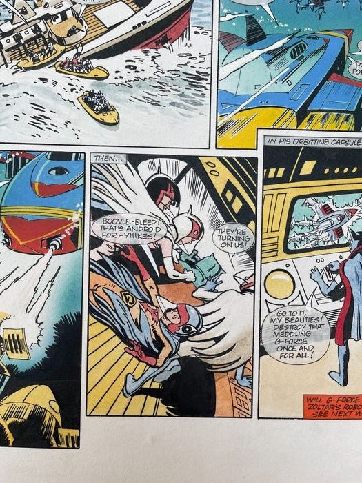 G-Force Battle of the Planets - TV Comic No. 1532 - art by Keith Watson