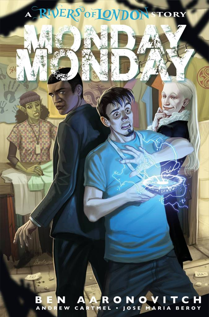 Rivers of London - Monday Monday #3 Cover C by Claudia Ianniciello