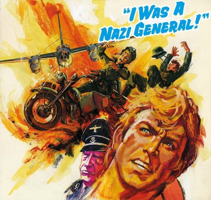 """Commando 5468: Gold Collection - """"I Was a Nazi General!"""" - Cover by Aldoma Full"""