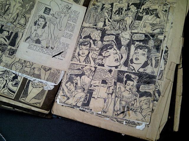 Mike Hubbard Art Reference Folder (1940s)