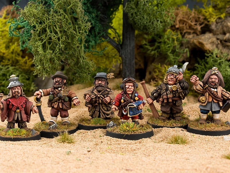 """Northumbrian Tin Soldier launches official """"Time Bandits"""" miniatures"""