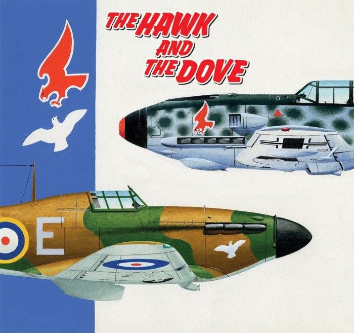 Commando 5482: Silver Collection - The Hawk and the Dove - cover by Ian Kennedy - Full Cover