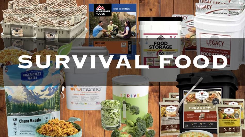 37 Top Survival Foods